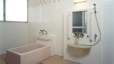 ユニット内個浴